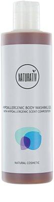 Naturativ Body Care Hypoallergenic Duschgel regeneriert die Hautbarriere
