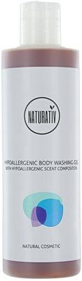 Naturativ Body Care Hypoallergenic gel de ducha reparador de la barrera cutánea