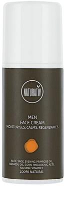 Naturativ Men regeneracijska krema z vlažilnim učinkom