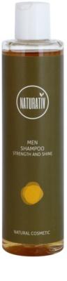 Naturativ Men champô para cabelo com efeito hidratante