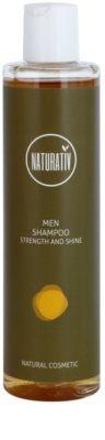 Naturativ Men champú para cabello con efecto humectante