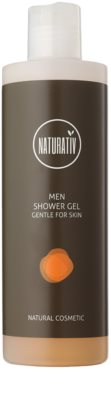 Naturativ Men gel de ducha suave