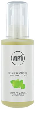 Naturativ Body Care Relaxing Körperöl spendet spannender Haut Feuchtigkeit
