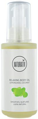 Naturativ Body Care Relaxing telový olej pre hydratáciu a vypnutie pokožky