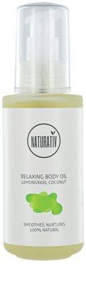Naturativ Body Care Relaxing testápoló olaj a bőr hidratálásáért és feszességéért