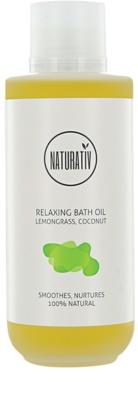 Naturativ Body Care Relaxing Badeöl spendet spannender Haut Feuchtigkeit