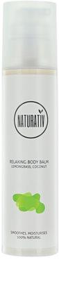 Naturativ Body Care Relaxing balzam za telo z vlažilnim učinkom
