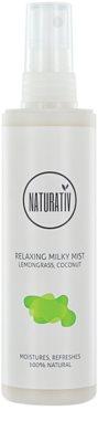 Naturativ Body Care Relaxing mléčná mlha pro hydrataci a vyhlazení pokožky