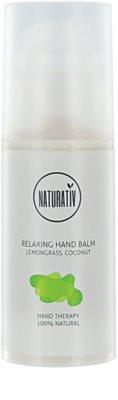 Naturativ Body Care Relaxing feuchtigkeitsspendende Creme für die Hände