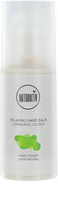 Naturativ Body Care Relaxing зволожуючий крем для рук