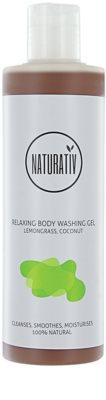 Naturativ Body Care Relaxing gel de duche com glicerol