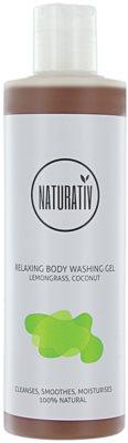 Naturativ Body Care Relaxing gel za prhanje z glicerinom