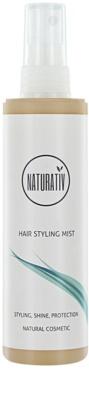 Naturativ Hair Care Shine&Protection mgiełka wygładzająca i ułatwiająca rozczesywanie