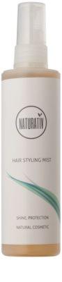Naturativ Hair Care Shine&Protection loțiune de netezire a părului 1