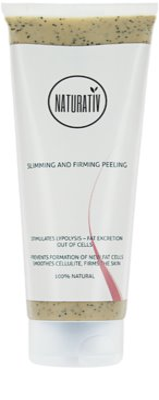 Naturativ Body Care Slimming and Firming telový peeling proti celulitíde s hydratačným účinkom