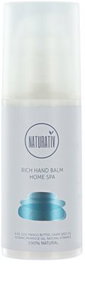 Naturativ Body Care Home Spa balsam nutritiv de maini