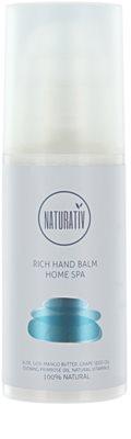 Naturativ Body Care Home Spa tápláló balzsam kézre