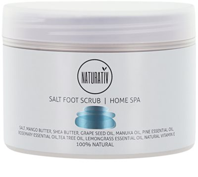 Naturativ Body Care Home Spa скраб със сол за крака
