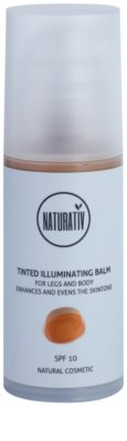 Naturativ Sun Care Sun Fun tönender aufhellender Balsam Für Körper und Beine