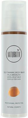 Naturativ Sun Care Sun Fun önbarnító és bronzosító testbalzsam  hidratáló hatással