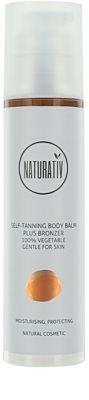 Naturativ Sun Care Sun Fun samoopalovací tělový balzám a bronzer s hydratačním účinkem