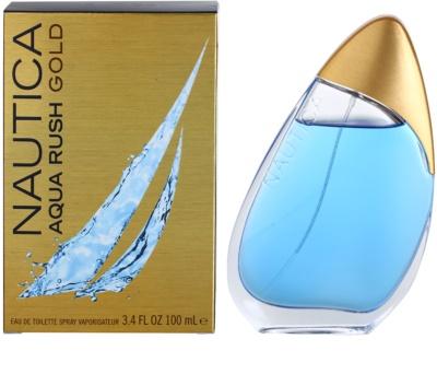 Nautica Aqua Rush Gold Eau de Toilette para homens