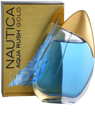 Nautica Aqua Rush Gold Eau de Toilette para homens 1