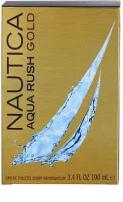 Nautica Aqua Rush Gold Eau de Toilette para homens 4