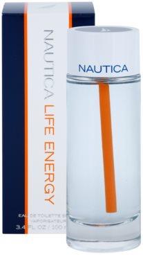 Nautica Life Energy Eau de Toilette para homens 1