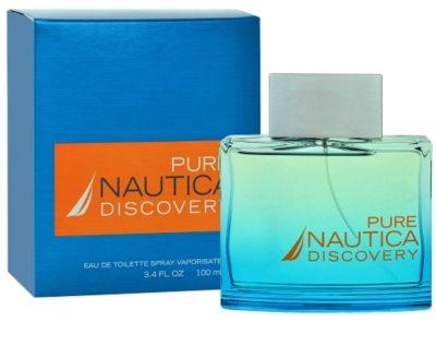Nautica Pure Discovery eau de toilette para hombre