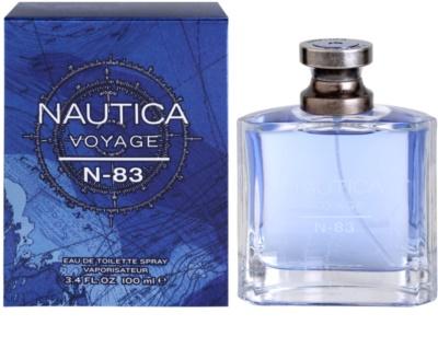 Nautica Voyage N-83 Eau de Toilette pentru barbati
