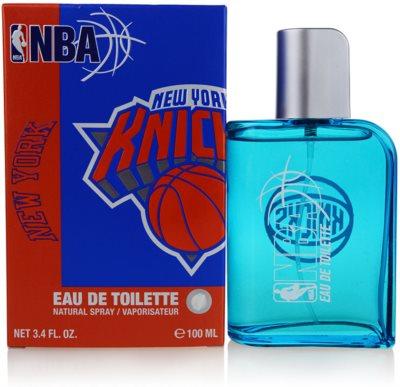 NBA New York Knicks toaletní voda pro muže