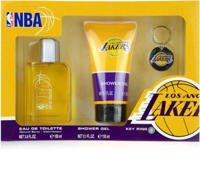 NBA Los Angeles Lakers coffret presente