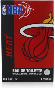NBA Miami Heat Eau de Toilette pentru barbati 4