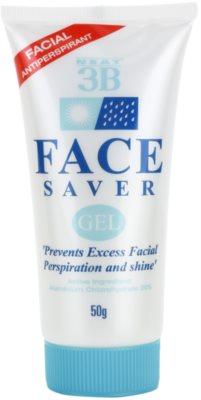 Neat 3B gel facial contra a transpiração e brilho excessivo