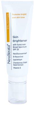 NeoStrata Enlighten crema hidratante iluminadora para manchas de pigmentación SPF 25
