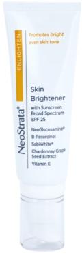 NeoStrata Enlighten élénkítő hidratáló krém a pigment foltok ellen SPF 25