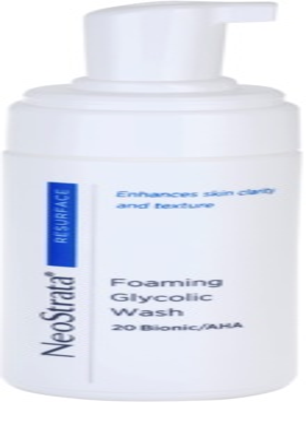 NeoStrata Resurface espuma facial de limpieza profunda 1
