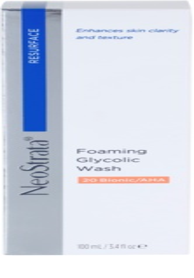 NeoStrata Resurface espuma facial de limpieza profunda 4