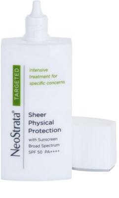 NeoStrata Targeted Treatment mineralny fluid ochronny do twarzy SPF 50 1