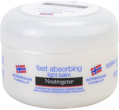 Neutrogena Body Care bálsamo corporal rápida absorción  para pieles normales