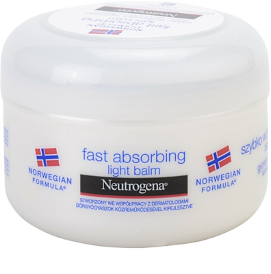 Neutrogena Body Care gyorsan felszívódó testbalzsam normál bőrre
