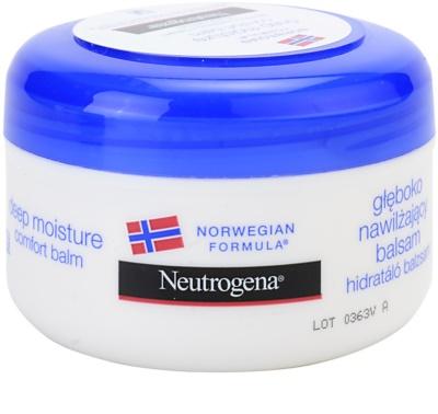 Neutrogena Body Care hloubkově hydratační balzám pro suchou pokožku
