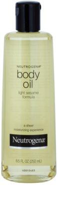 Neutrogena Body Oil feuchtigkeitsspendendes Körperöl