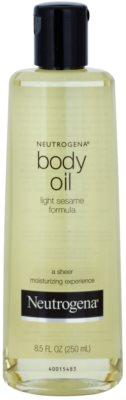 Neutrogena Body Oil hidratáló testápoló olaj