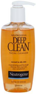 Neutrogena Deep Clean tisztító gél az arcra