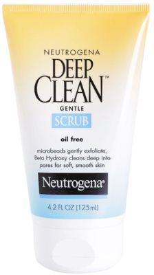 Neutrogena Deep Clean exfoliante para el rostro