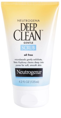 Neutrogena Deep Clean piling za obraz