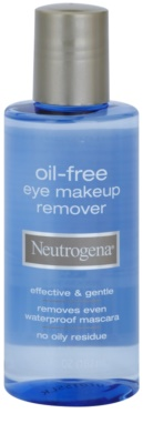 Neutrogena Face Care odličovač očního make-upu bez obsahu oleje