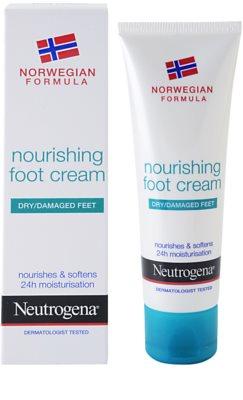 Neutrogena Foot Care odżywczy krem do nóg 1